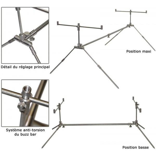 neuf et occasion rod pod solar sod pod inox. Black Bedroom Furniture Sets. Home Design Ideas